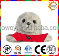 Hot sales plush harbor seal p06s025 stuffed toy