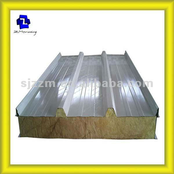 EPS sandwich panel/2012 new building construction material