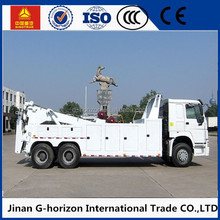 Howo 20 ton heavy duty rotator wrecker towing truck for sale