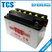Long life time battery for motorcycle 6ah