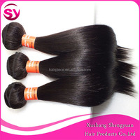 Best Selling 3pcs lot Brazilian Straight Hair 12 14 16 Inches Natural Color Cheap Straight Brazilian Human Hair Weave