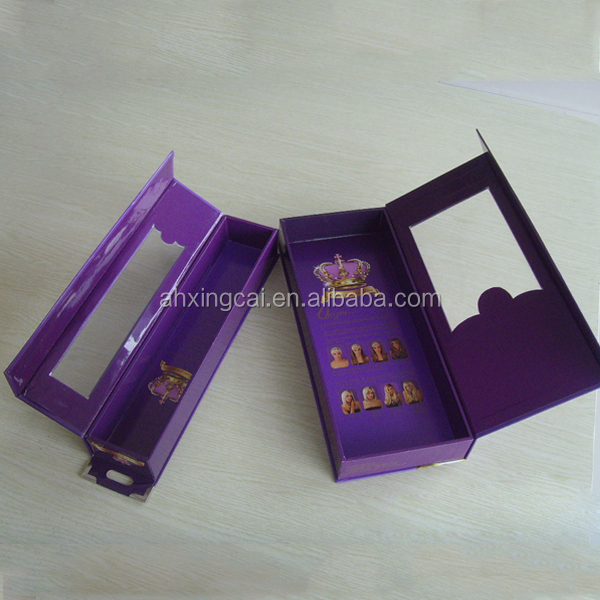Luxury design paper cardboard avocado hair packaging boxes