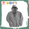 Plain Thick Fleece Zipper-Up Hoodie Jackets For Men