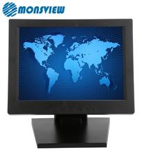 4 Wire Resistive 10 Inch Lcd Touch Screen Monitor For Medical POS Industrial