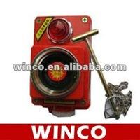 Glass Break Fire Alarm SFAN-1A With Small Hammer