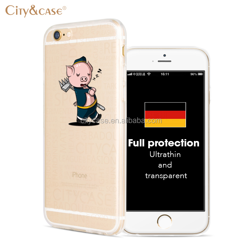 city&case waterproof back case cover for smartphone for iPhone6 6s