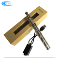 Mini adjustable voltage gold color vape pen 510 thread vaporizer e cigarette kit