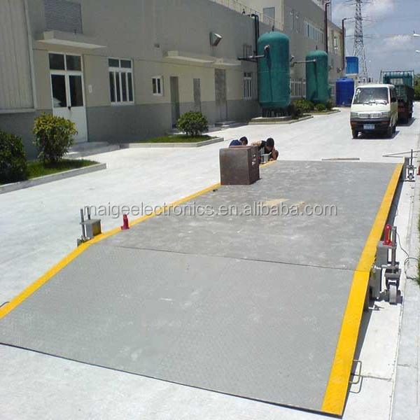 SCS-50 3*14m 50t Digital Electronic Mobile Weighbridge Manufacturer Supplier