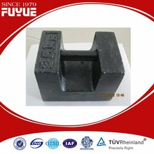 Superior test weights for crane load testing with high quality