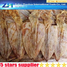 HGT skinless cleaned dried illex squid for saling dried smoked squid