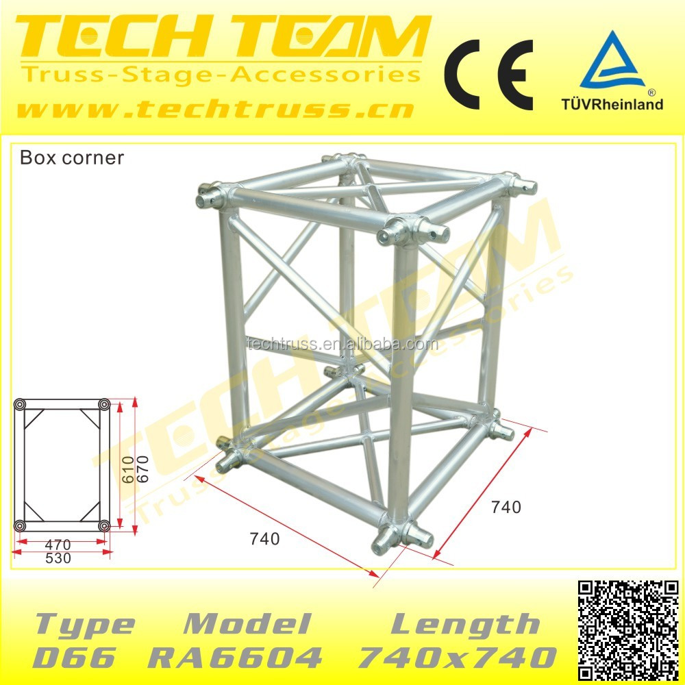 box corner for truss