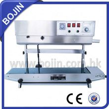 automatic continuous induction sealer in machinery