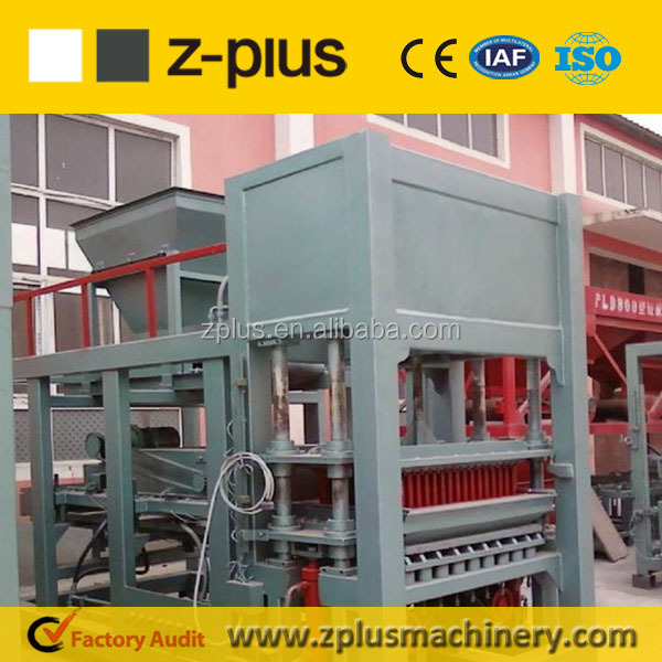 Business investment opportunity QTY6-15 hydraulic concrete block machinery