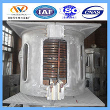 medium frequency induction melting steel scrap furnace for casting parts