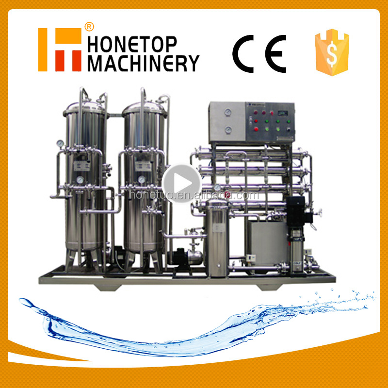 High Accuracy river water purification system
