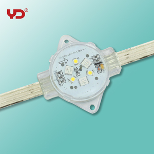 China RGBW DMX512 waterproof IP68 40mm led pixel module