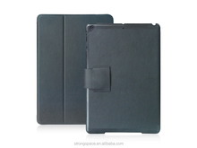 Smart buckle case for ipad air 2 with high quality microfiber leather from China supplier