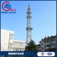 Good quality hot-sale self supporting telecom tower