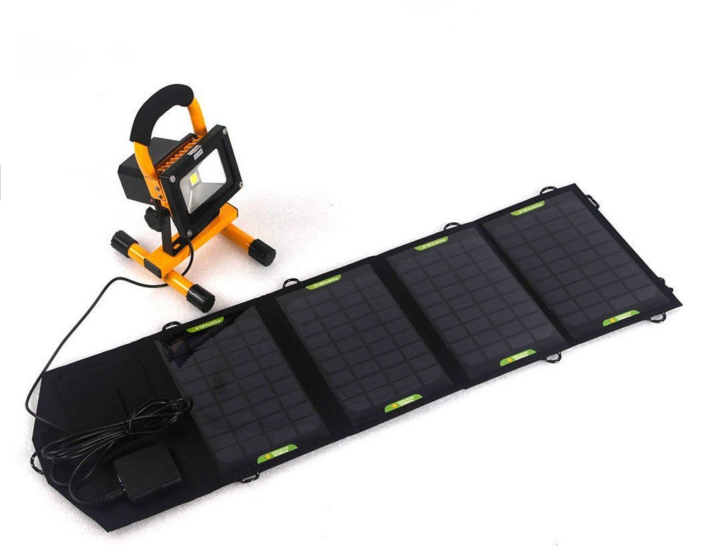 9v 5v 10.5w solar panel portable charger battery power backup free energy