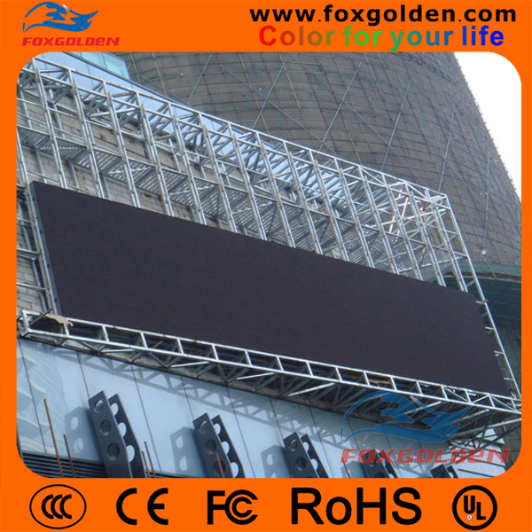 high definition P10 outdoor full color advertising led billboard for standing