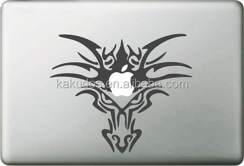 Coolest Design Zombie decal stickers for mac book