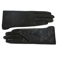 women embossed leather gloves, gloves motorcycle