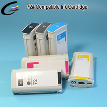 Stabl Quality Full Ink Cartridge 72 Compatible for HP DesignJet T790 Plotter Tank