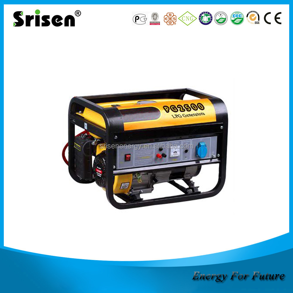 EX5000-Natural gas portable generator, Liquefied Petroleum Gas Generator