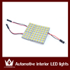 12v automobile dome light led reading light with 3 connectors