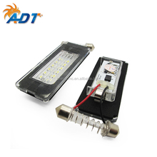 china supplier Great quality 12V 24SMD 6500K super white Car LED License Plate number Lamp for MINI R56 led