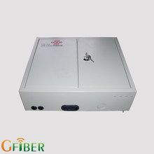 FTTH network indoor 12 core metal optical connection box