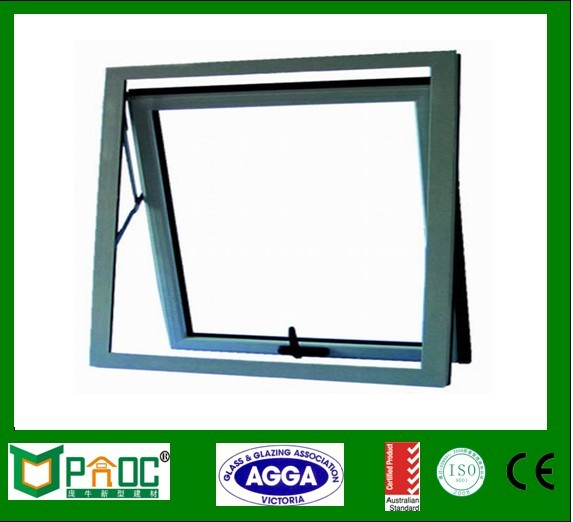 New brand 2016 laminated glass aluminium top hung window scantling
