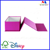 Custom foldable paper gift packaging box/kids foldable storage box for sale