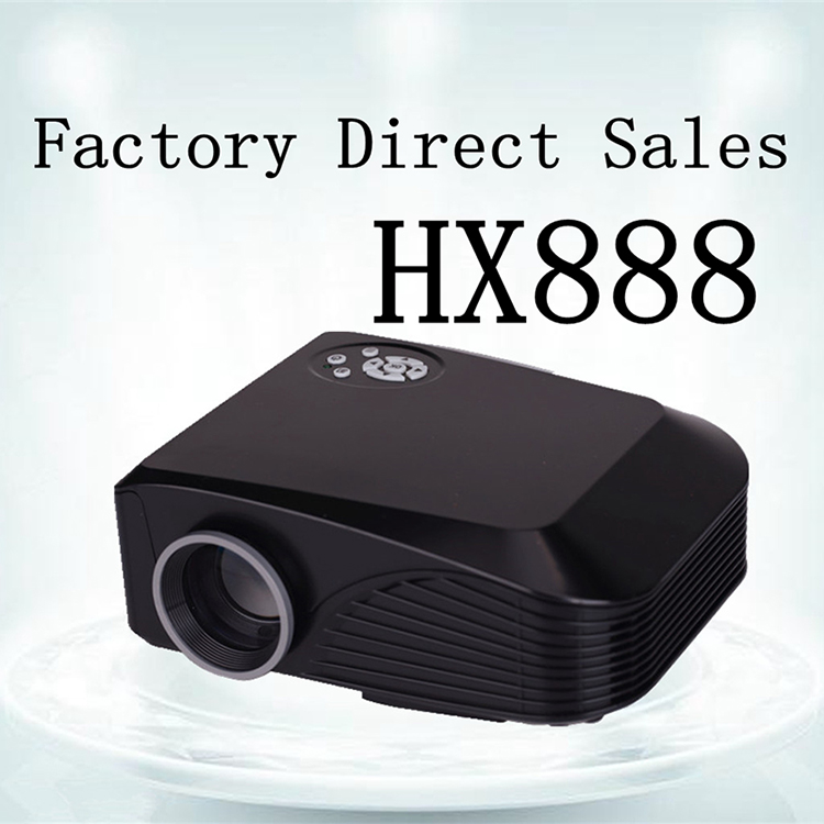 2016 Newest Mini Wifi GPS TV Projector HX888 Connect Mobile Phone m1 Mini Beamer 1000Lumens LED 1080P Full HD Proyector