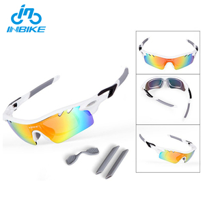 INBIKE Best Selling Windproof Sun Running Bike/Cycling Glasses By Set