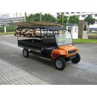 High quality durable 4 wheel electric utility vehicle logistics cargo truck