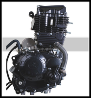 1 Cylinder 4 Stroke Kick Start 175cc Water Cooled engine parts