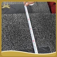 Anti slip and softly pvc car coil mat
