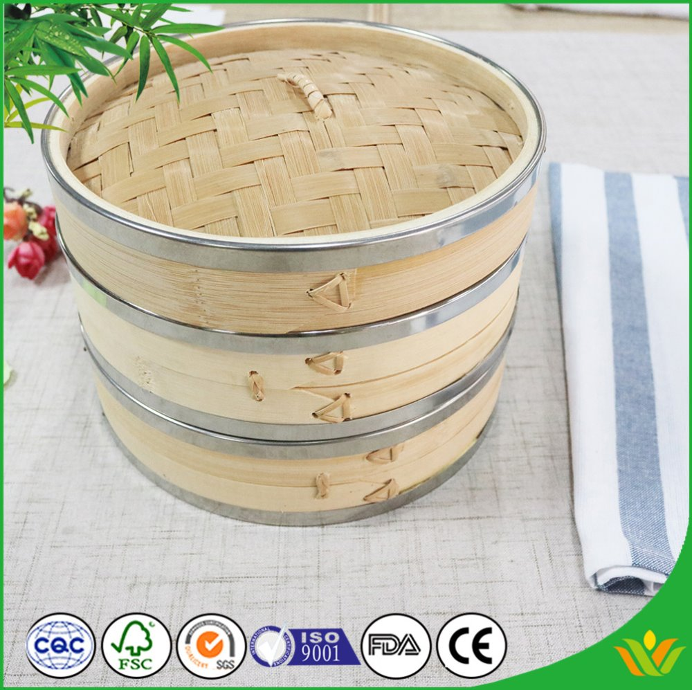 Commercial Bamboo Steamer Set Steamer Set