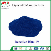 Reactive Brill Blue KN-R/C.I.Reactive Blue 19 textile fabric