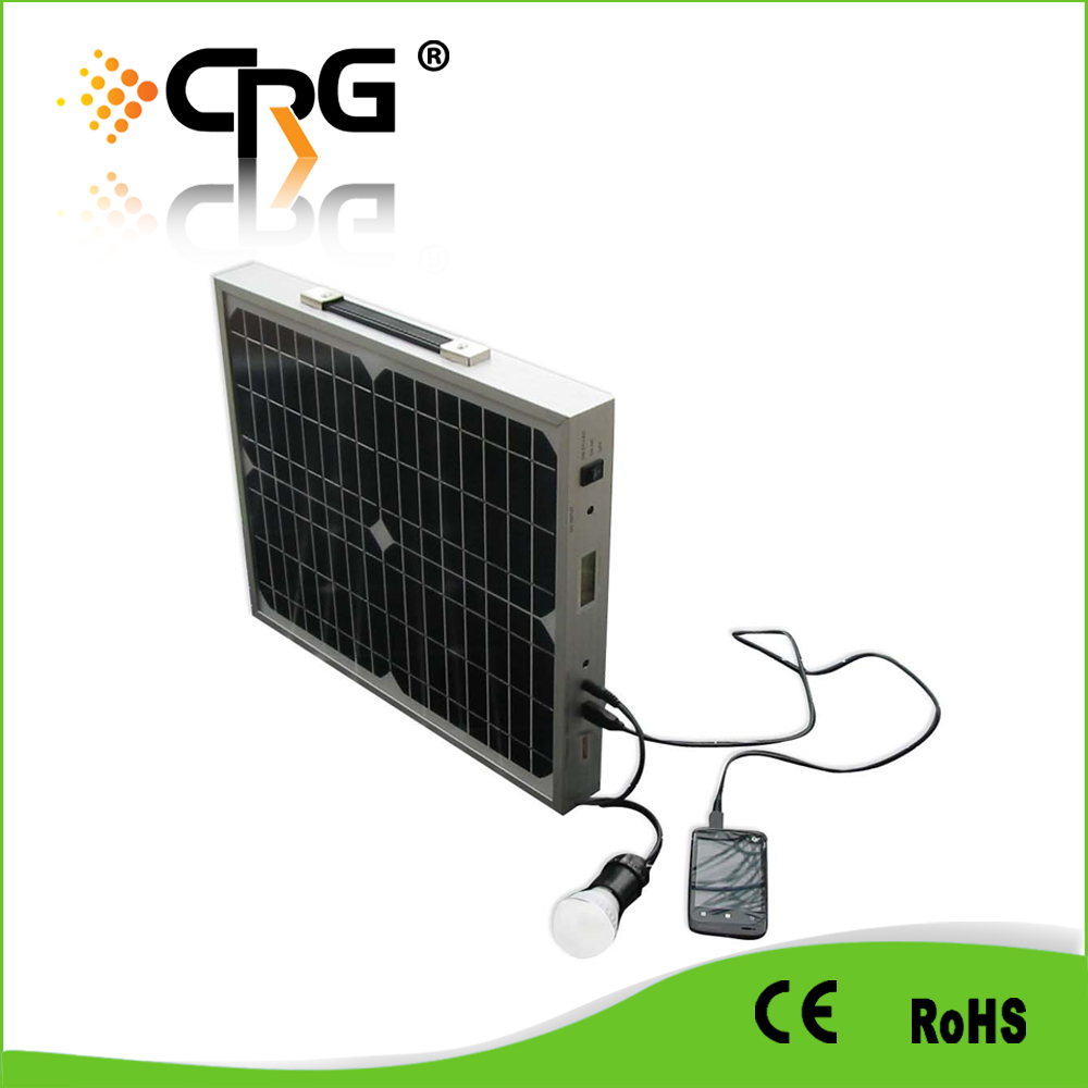 NEW Arrival solar panel kits and Cheap Solar panel carry bag with rechargeable battery built-in