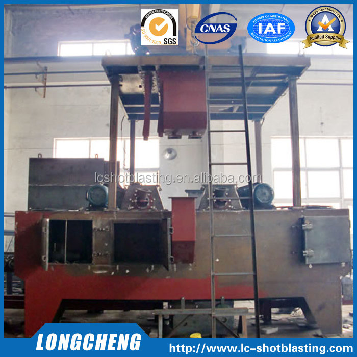 Roller Conveyor Type Shot Blasting Machine