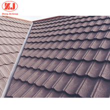 Most popular clay metal stone coated roof tile