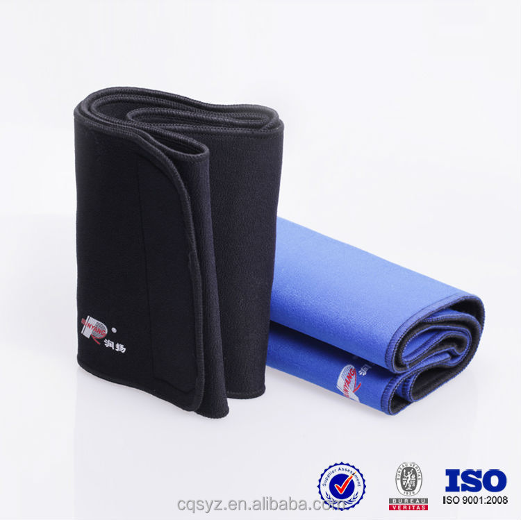 Knitting elastic compression back support belt
