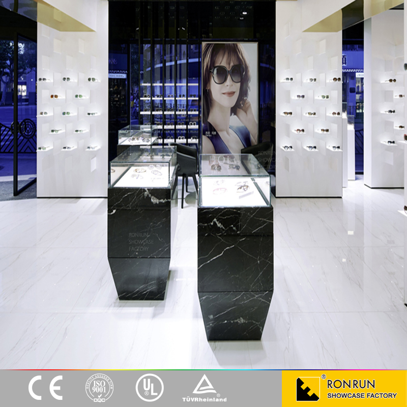 Eyewear Display Counter Eyewear Stands Display Cabinet For Optical Shop Display