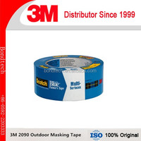 3M Scotch Blue 2090 Safe-Release Crepe Paper Multi-Surfaces Painters Masking Tape,2in*60yd