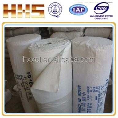 To protect induction furnace Coil grout mica cloth flexible laminate material High Quality dust free Insulating Cloth roll