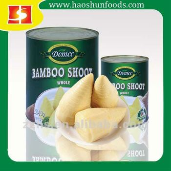 Canned Bamboo Shoot whole/halves/slice/strip