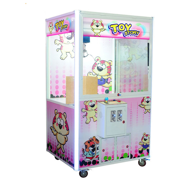 Arcade game machine simulator toy claw crane machine for sale