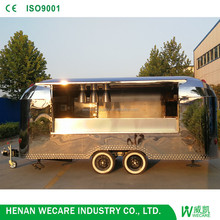 Commercial mobile food cart with wheels/food light trucks/crepes car food truck